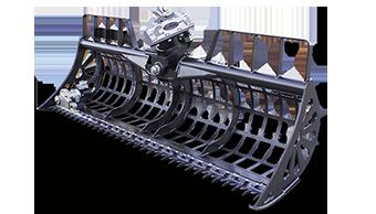 attrezzature professionali - river bucket - benna falciante - energreen macchine professionali