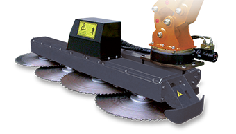 attrezzature professionali - saw bar - barra a dischi - energreen macchine professionali