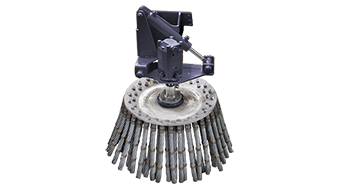 attrezzature professionali - iron brush - spazzola in ferro - energreen macchine professionali