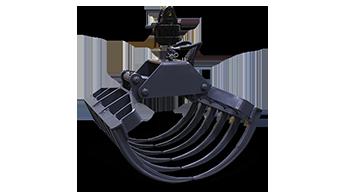 attrezzature professionali - forc one - pinza agroforestale - energreen macchine professionali