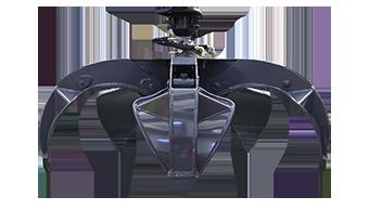 attrezzature professionali - orange peel grapple - pinza a polipo - energreen macchine professionali
