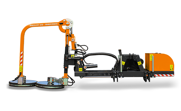 attrezzature professionali - raiber discovery transformer 840 - falciatrice guardrail - energreen macchine professionali