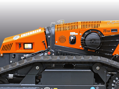 robomax - trincia forestale - carenatura - energreen macchine professionali