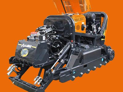 robomax - trincia forestale - telaio - energreen macchine professionali
