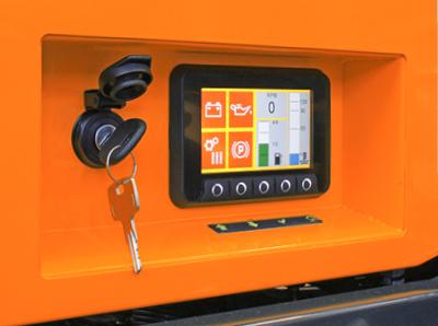 robomax - trincia forestale - consolle comandi - energreen macchine professionali