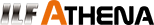 logo ilf athena nero altezza 25 pixel