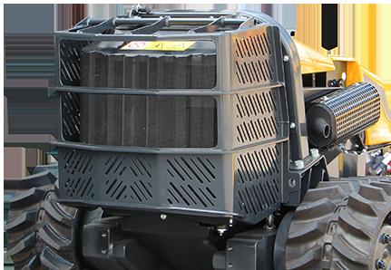 robogreen evo protezione radiatore