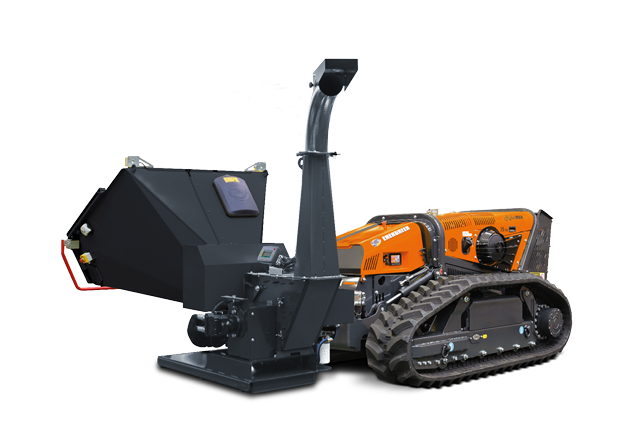 attrezzature macchina radiocomandata robomax bio shredder biotrituratore