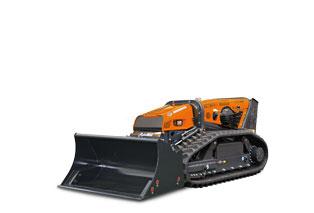 attrezzature macchina radiocomandata robomax bucket benna alto ribaltamento