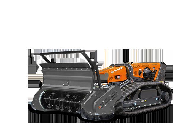 robomax - attrezzature - forestry head with rotary hammers - testata forestle a mazze girevoli - energreen macchine professionali