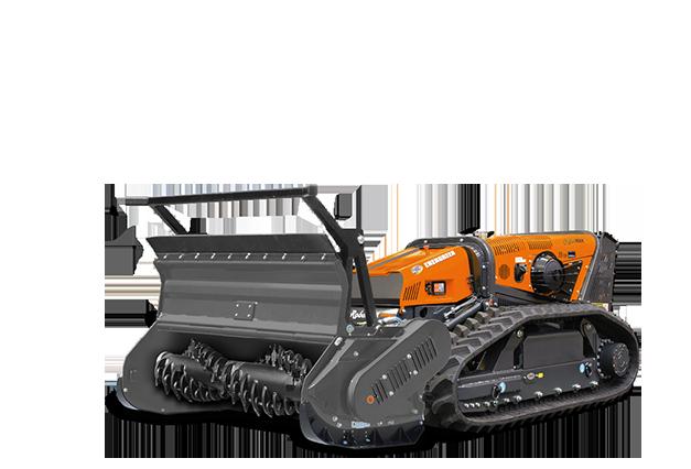robomax - attrezzature - forestry head with fixed teeth - testata forestle a denti fissi - energreen macchine professionali