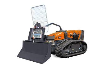 attrezzature macchina radiocomandata robomax forestry winch verricello forestale