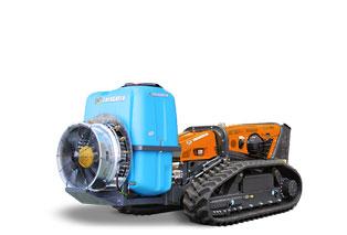 attrezzature macchina radiocomandata robomax sprayer eg400 atomizzatore