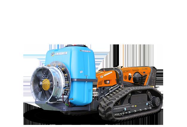 robomax - attrezzature - sprayer - atomizzatore - energreen macchine professionali