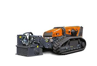 attrezzature macchina radiocomandata robomax stone crushers frantumasassi