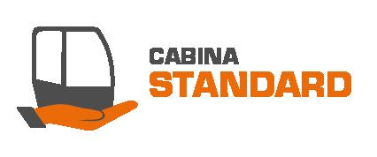 cabina standard energreen ilf - macchina semovente idrostatica