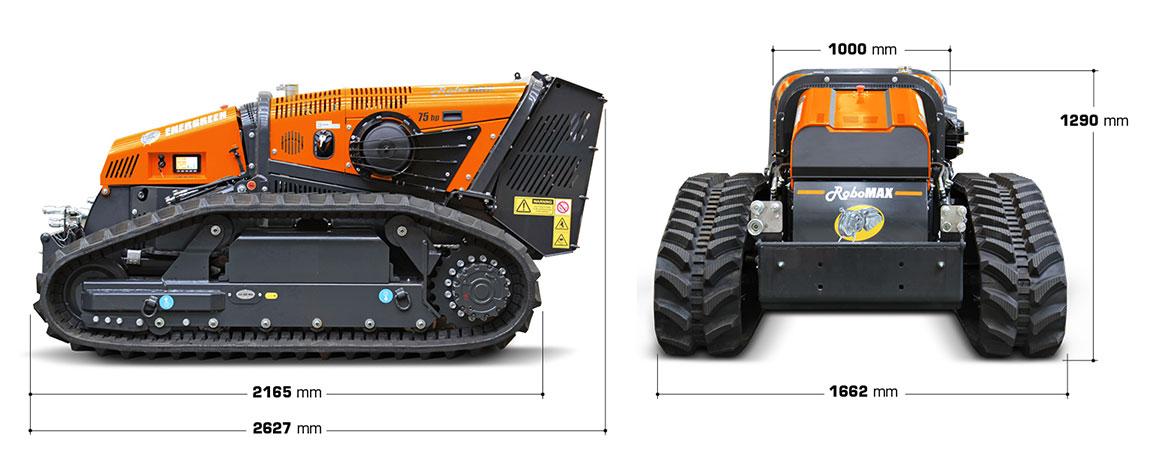 energreen robomax dimensioni