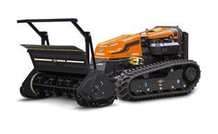 testata forestale a mazze girevoli - forestry 130 h - robogreen evo - energreen macchine professionali
