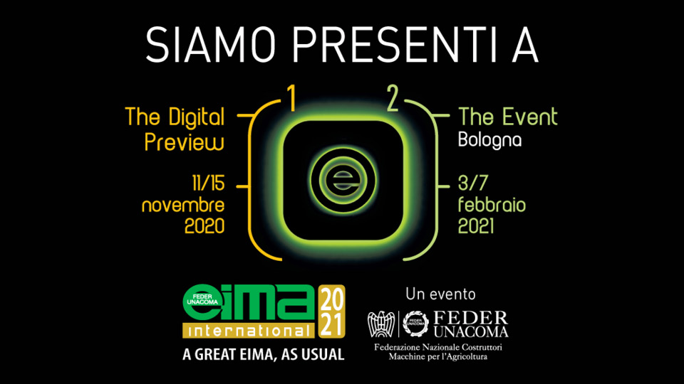 eima 2021 - bologna - 3/7 febbraio 2021 - energreen macchine professionali