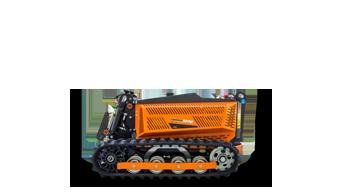 robomini - robot tagliaerba radiocomandato - energreen macchine professionali
