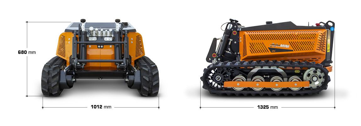 robomini dimensioni - energreen macchine professionali