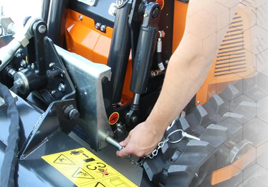 robomini - sostituzione radpida attrezzature - energreen macchine professionali