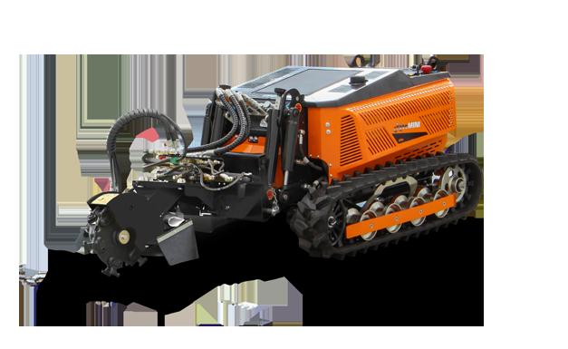 robomini - stump grinder - fresaceppi - energreen macchine professionali