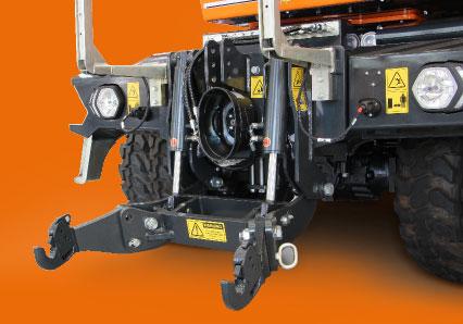 ilf athena - attacco frontale - solleatore anteriore con pto - macchina idrostatica semovente - energreen macchine professionali