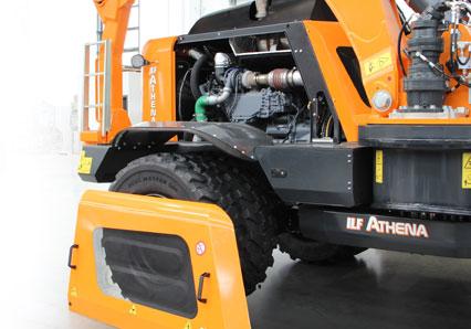 ilf athena - facile manutenzione motore - energreen macchine professionali