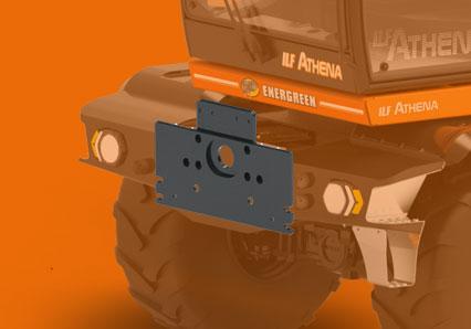 ilf athena - piastra din - energreen macchine professionali
