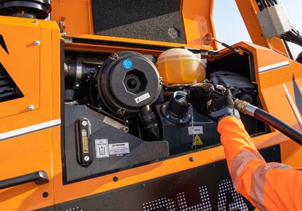 ilf alpha - vano rifornimento - energreen macchine professionali