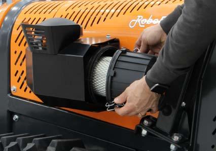 roboevo - filtro aria - energreen macchine professionali