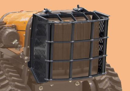roboevo - protezione radiatore - energreen macchine professionali