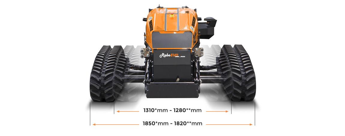roboevo vaario - dimensioni - energreen macchine professionali