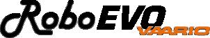 logo roboevo vaario - porta attrezzi radiocomandato cingolato - energreen macchine professionali