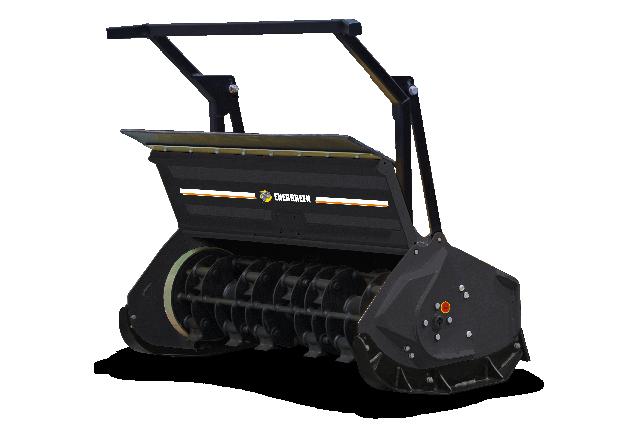 roboevo - attrezzatura - testata forestale mazze girevoli - forestry 130h - energreen macchine professionali