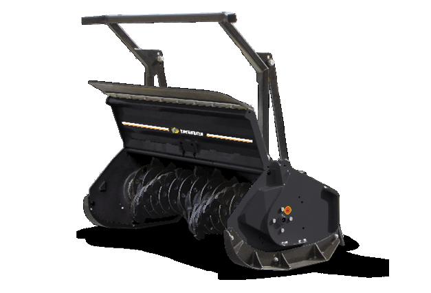 roboevo - attrezzatura - testata forestale denti fissi - forestry 130h - energreen macchine professionali