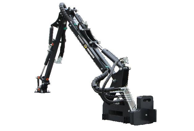 roboevo - attrezzatura - braccio trimmy - energreen macchine professionali