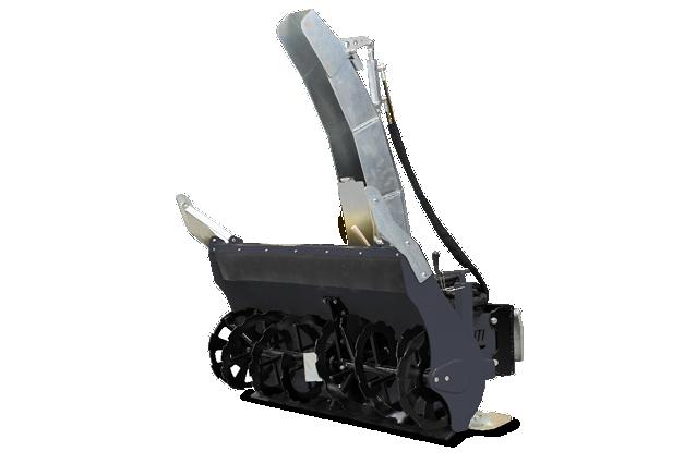 roboevo - attrezzatura - turbofresa - snow blower - energreen macchine professionali