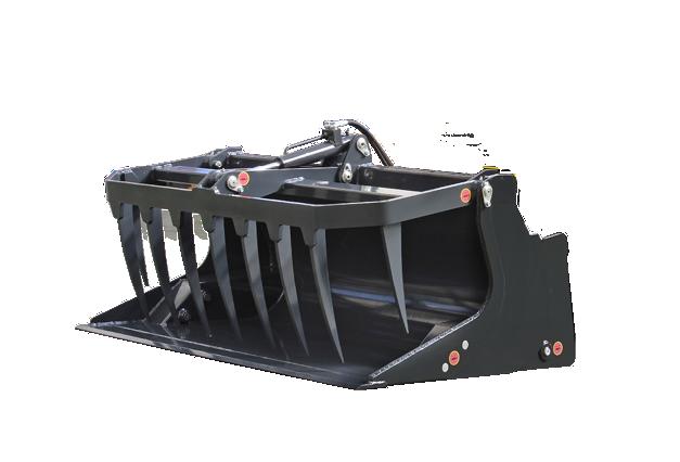 roboevo - attrezzatura - benna mordente - grapple bucket - energreen macchine professionali