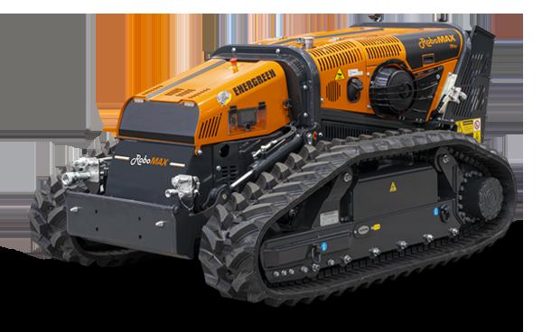 robomax - trincia forestale - energreen macchine professionali