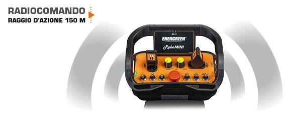 robomini - radiocomando - tagliaerba radiocomandato - sicurezza - energreen macchine professionali