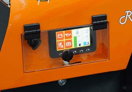 robomidi - display colori - robot multifunzione - energreen macchine professionali