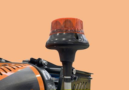 robomidi - lampeggiante led - robot multifunzione - energreen macchine professionali