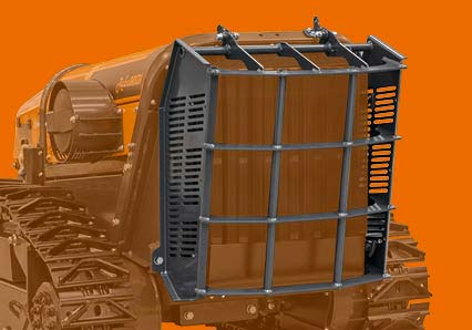 robomidi - protezione radiatore acciaio - robot multifunzione - energreen macchine professionali