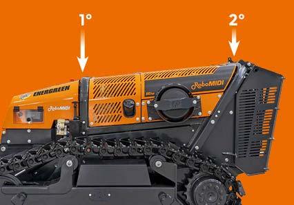 robomidi - doppio roll bar - robot multifunzione - energreen macchine professionali