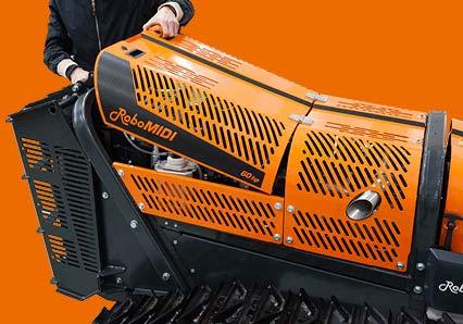 robomidi - vano motore - robot multifunzione - energreen macchine professionali