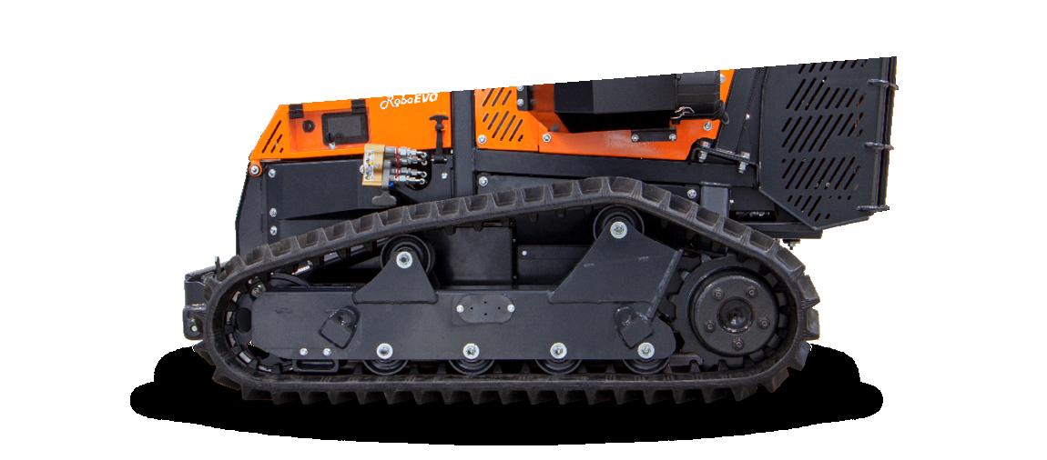 roboevo - nuovo profilo cingoli - trinciatrice radiocomandata - energreen macchine professionali
