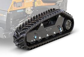 roboevo - super cingoli gomma - trinciatrice radiocomandata - energreen macchine professionali