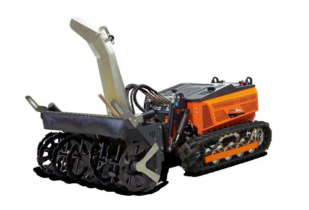 robomini - attrezzature - snow blower - turbofresa - energreen macchine professionali